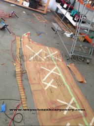 Synthetic Teak Decking Boat Flooring Template Instructions | Teak Decking | Scoop.it