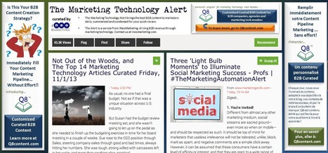 The Marketing Automation Alert | Showcase of custom topics | Scoop.it