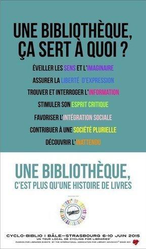 Une bibliothèque, à quoi ça sert ? (Tweet de @bibaulnay) | bib & actualités numériques | Scoop.it