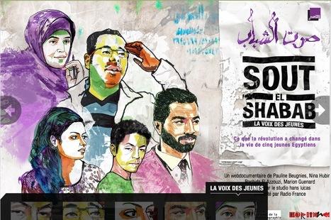 Sout el shabab / La voix des jeunes   webdoc   Scoop.it