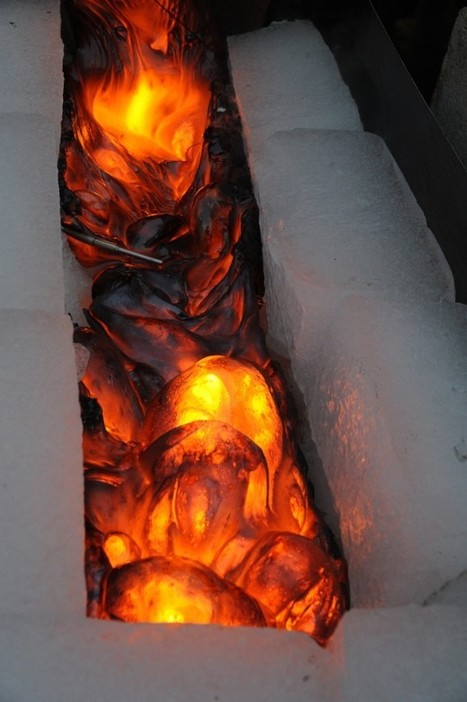 Song of Fire and Ice: Watch What Happens When Lava Meets Ice | various variousness | Scoop.it