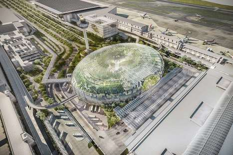 Moshe Safdie Creates Spectacular Bio Dome for Singapore Airport | sustainable architecture | Scoop.it