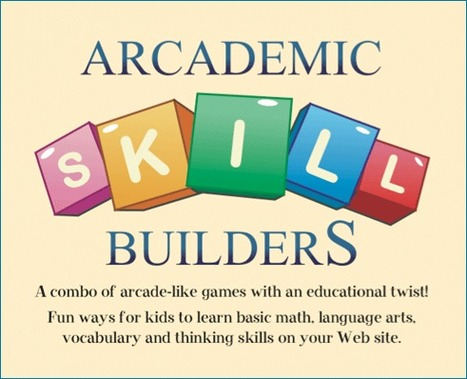 Arcademic Skill Builders - Fun Educational Games for Kids   Technology in Education   Scoop.it