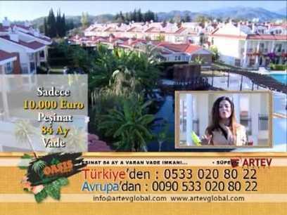 Artev Global TV televizyonda göründüğü gibi, anahtar teslim gayrimenkuller. | Artev Global Bodrum'de TV Euro D ve ATV | Scoop.it