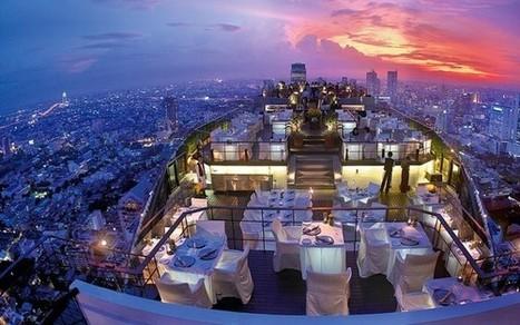 Hotels with rooftop restaurants: four of the best | L'hôtellerie de luxe dans le monde | Scoop.it