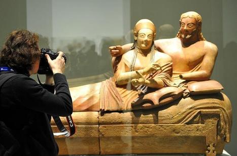 Anniversaire du Louvre-Lens : en avant-première, découvrez « Les Étrusques et la Méditerranée » (VIDEO) | Les Etrusques et la Méditerranée. La cité de Cerveteri | Scoop.it