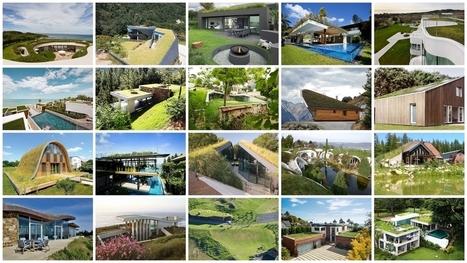 Concilier style contemporain et toiture végétalisée : 20 exemples | Le flux d'Infogreen.lu | Scoop.it