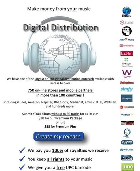 Digital Distribution Overview | PitchMyStuff.com | The Secret Integration | Scoop.it
