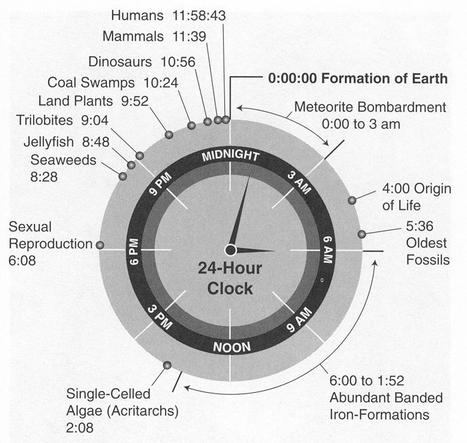If Earth's Entire History Was Just 24 Hours Long | Edudemic | SASPXMS | Scoop.it