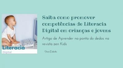 Literacia digital – crescer juntos - Aprender com os dedos | Biblioteca | Scoop.it