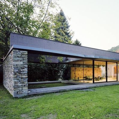 Villa SK by Atelier Thomas Pucher | Architecture and Architectural Jobs | Scoop.it