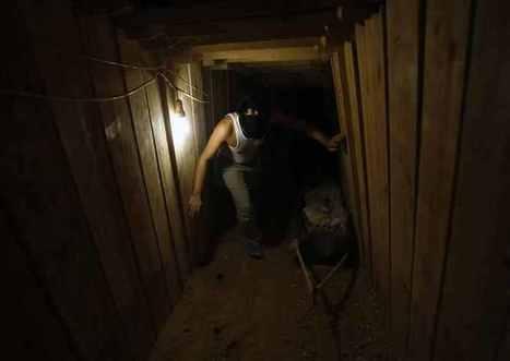 Egypt floods Gaza tunnels to cut Palestinian lifeline | Égypt-actus | Scoop.it