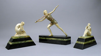 UKauctionnews: Art Deco Figures By German Sculptor Valued At Up To £12,000 Each At Halls, Shrewsbury | art deco | Scoop.it