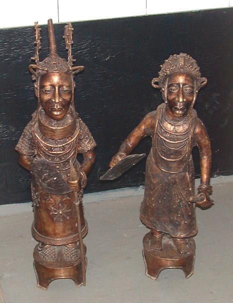 Bronze Benin King and Queen | Más allá que un gran continente, un movimiento cultural... | Scoop.it