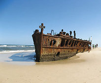Fraser Island, Australia | 17 Haunting Shipwrecks Around the World | DiverSync | Scoop.it