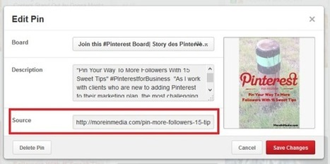 How to Link Uploaded Pins on Pinterest Back to Your Website | Pinterest | Scoop.it