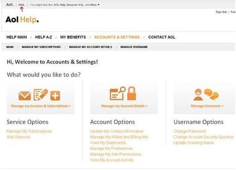 How to Recover AOL Password | Online Technical Support | Scoop.it