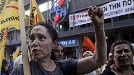 Las políticas capitalistas generan desempleo récord y desplome industrial en Grecia - 17 mil personas perdieron empleo en julio | La R-Evolución de ARMAK | Scoop.it