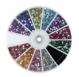 Free 2400 Piece 12 Color Nail Art Manicure Wheels | Life in Color | Color in Life | Scoop.it