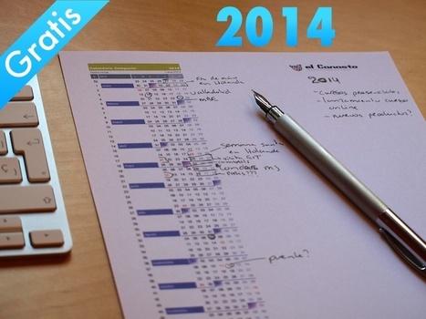 Descarga gratis el calendario compacto de 2014 en formato Excell ...   Office a full   Scoop.it