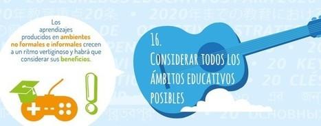 Cultura digital de aprendizaje: 20 Claves y 20 Escuelas del siglo XXI | Educación, innovación, cambios y reflexiones. | Scoop.it