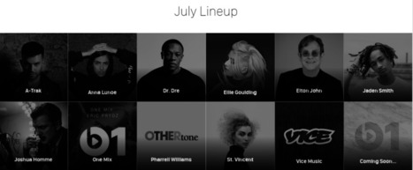 Beats 1 radio goes live following Apple Music launch | MUSIC:ENTER | Scoop.it