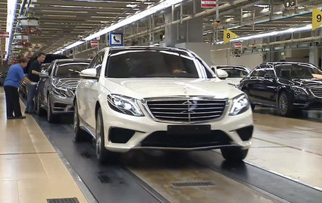 2014 Mercedes-Benz S63 AMG revealed in video - Autoblog (blog) | European Autos | Scoop.it