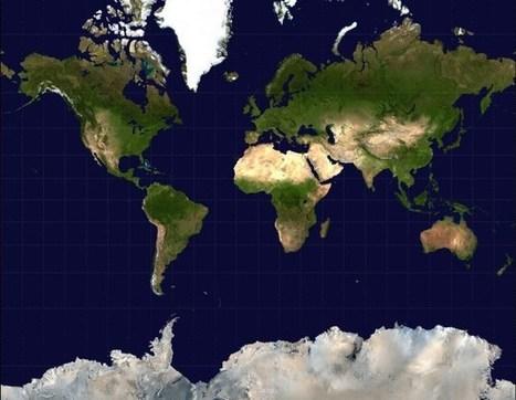 Proyección Mercator: cómo los mapas engañan a tu cerebro | Recursos de Geografia | Scoop.it