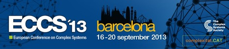ECCS 13 Barcelona 16-20 September 201 Satellite Meeting: Global Computing For Our Complex Hyper-Connected Worl 19th September 201 | FuturICT Events of Interest | Scoop.it
