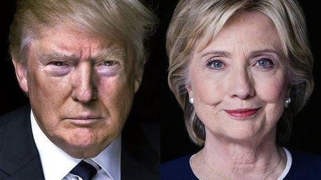 Hillary Clinton – Donald Trump: les petites phrases | Copywriting, rédaction web et print | Scoop.it
