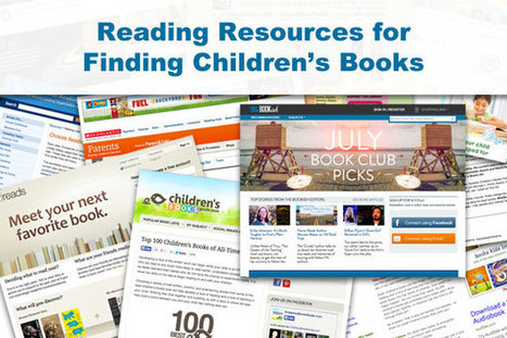 11 Book Resources to Help Parents Find Great Children's Reading ... | children's book quizzes | Scoop.it