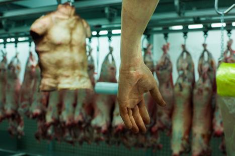 Human flesh pop-up butcher shop in Smithfield to promote new Resident Evil installment | Social-Media-Storytelling | Scoop.it