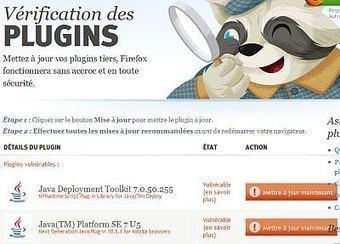 Comment vérifier que les plugins de Firefox sont mis à jour ou périmés ? | Time to Learn | Scoop.it