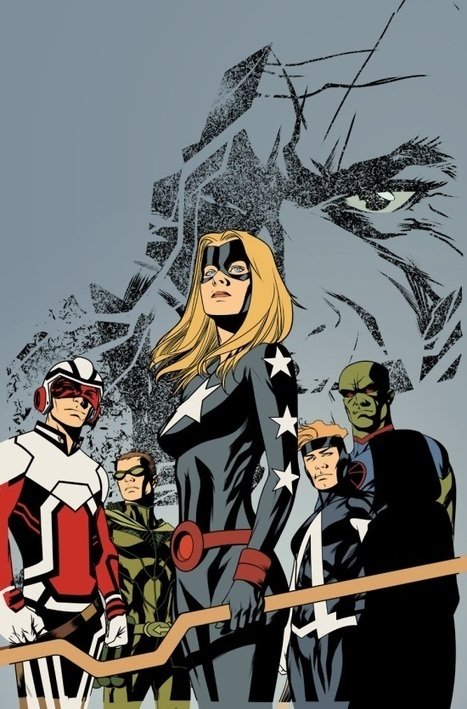 Justice League United Writer Jeff Lemire Hints At Changes To Adam Strange And A Silver Age Mystery Character   Comicbook.com   Comic Book Trends   Scoop.it