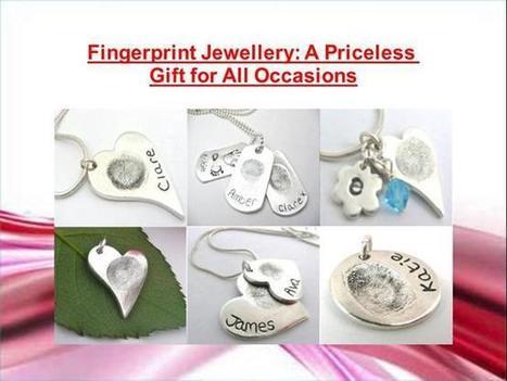The Best Way to Buy Finger Print Jewellry Onlin | Fashionable Fingerprint Jewellery | Scoop.it