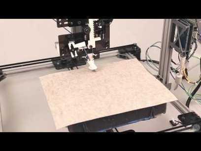 Disney Research entwickelt 3D-Drucker für Wolle - 3Druck.com   3D Druck   Scoop.it
