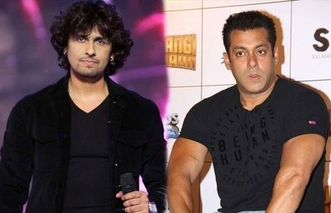 Salman Insults Sonu Nigam On Stage: Is It A Cold War?   Fashion and Trends   Scoop.it