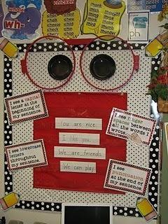Chalk Talk: A Kindergarten Blog: Writing Board   Literacia no Jardim de Infância   Scoop.it