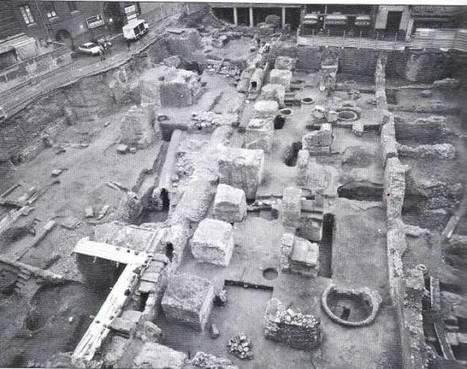 La ciudad romana que haybajo el suelo de Zaragoza, 600 metros de cloacas. | LVDVS CHIRONIS 3.0 | Scoop.it