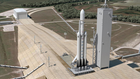 SpaceX Maiden Falcon Heavy Launch May Carry Satellite In November - Universe Today | New Space | Scoop.it
