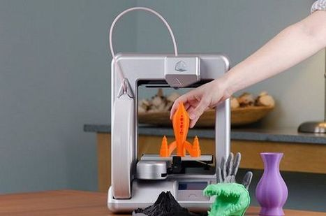 Cubify Cube, A 3D Printer That Looks Like A Home Appliance | Mobile & Technology | Scoop.it
