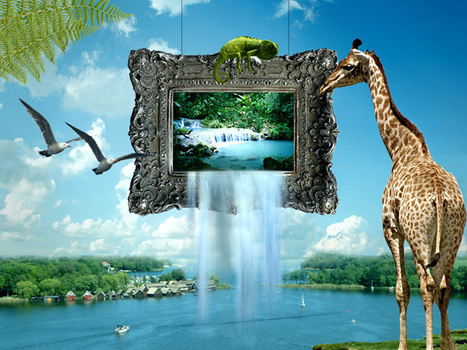 Design a Scenic Out of Frame Photo Manipulation | PSDFan | ha | Scoop.it