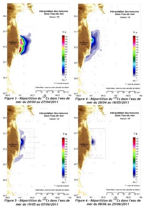 note d'information sur l'impact sur le milieu marin des rejets radioactifs consécutifs à l'accident | IRSN | Japon : séisme, tsunami & conséquences | Scoop.it