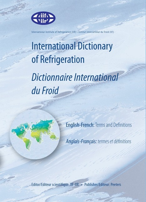 International Dictionary of Refrigeration | Wiki terminologie | Scoop.it