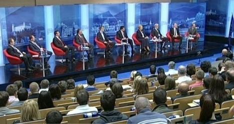 TA3 - Debata kandidátov na poslancov Európskeho parlamentu   Volím, teda som   Scoop.it