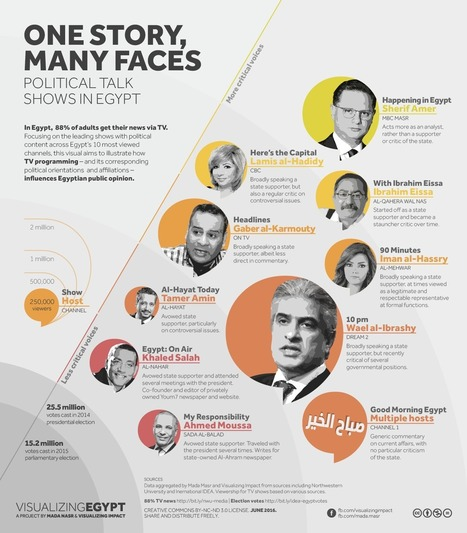One story, many faces: How Egypt's political TV is shaping public opinion | Info Com , web 2.0 | Scoop.it