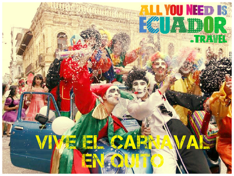 The history of Carnaval and the best carnivals in Ecuador | Galapagos | Scoop.it