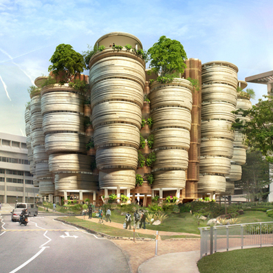 Thomas Heatherwick designs Singapore learning hub | The Architecture of the City | Scoop.it
