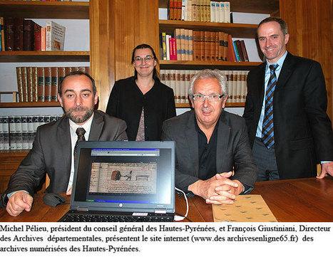 Lancement du site internet des archives numérisées des Hautes-Pyrénées - [TARBES INFOS]   Vallée d'Aure - Pyrénées   Scoop.it