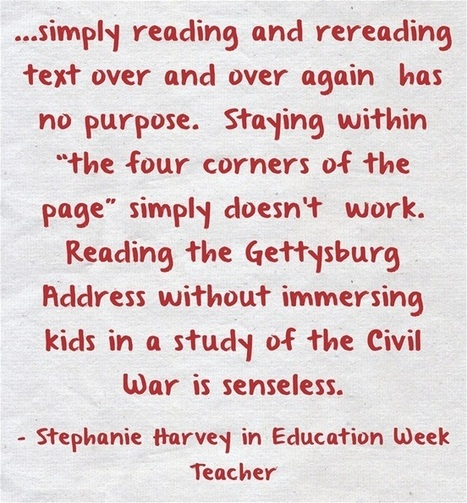Close Reading Is A 'Life Skill' | ELA in the Modern Era | Scoop.it